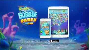 SpongeBob Bubble Party Official App Trailer!
