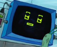 SpongeBob SquarePants Karen the Computer Face-5