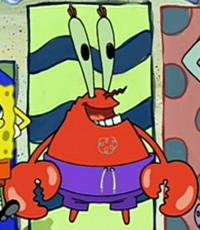 Mr. Krabs Wearing a Swim Suit2