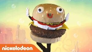 SpongeBob SquarePants 'Krabby Patty' Official Music Video Nick