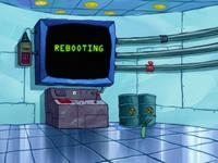 SpongeBob SquarePants Karen the Computer Rebooting-1