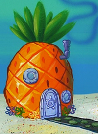 SpongeBob's pineapple house in Season 2-2