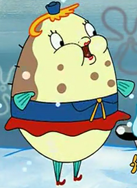 Mrs Puff inflated 4