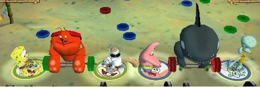 File:3d Spongebob, 3d Larry The Lobster, 3d Sandy, 3d Patrick, 3d Don The Wale, & 3d Squidward.jpg