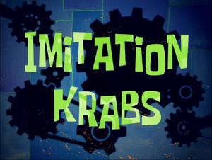 Imitation Krabs