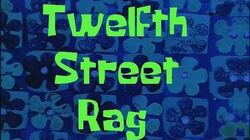 SpongeBob Production Music Twelfth Street Rag
