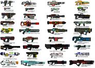 AUU Mega Weapons Gallery
