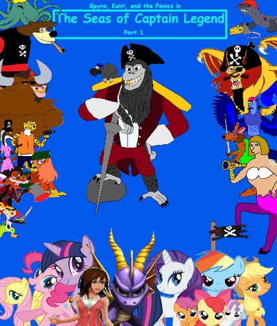 The Seas of Captain Legend Part 1