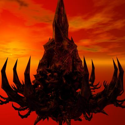 Evil castle by aexion-d4igiqm