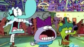 Chowder does the Jaw Drop for 10 Minutes