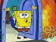 SpongeBob Going to School