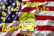 SpongeBob Vote by P Frost