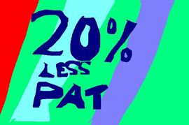 20% LessPatTitleCard