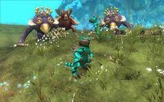 Spore Land Creatures