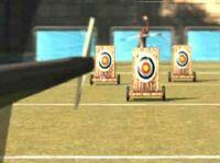 Archery pushtargets