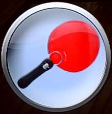 Bonus equipment emblem tennis motion controller paddle