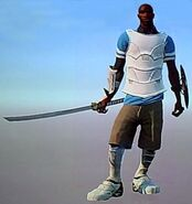 Outfit jackson silver gladiator