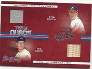 2005 Absolute Team Quad Swatch Single Front