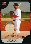 2005 Bowman Baseball Relics 130