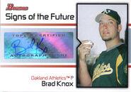 2008 Bowman Baseball SOTF BK