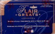 2003 Flair Greats Box
