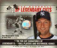 2008 SP Legendary Cuts Box