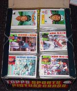 1984 Topps Rack Box