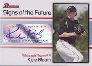 2008 Bowman Baseball SOTF KB