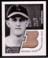 2001 Bowman Her Musial Seat
