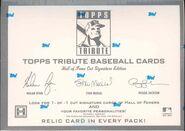 2004 Topps Tribute Hobby Box