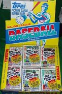 1984 Topps Cello Box