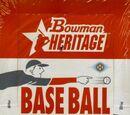2006 Bowman Heritage Baseball