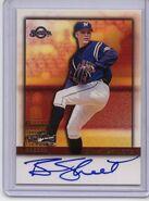 2001 Bowman Baseball Auto BA-BS