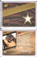 2008 UD Piece Hollywood 12