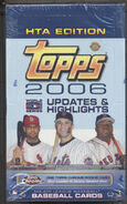 2006 Topps Update HTA Box
