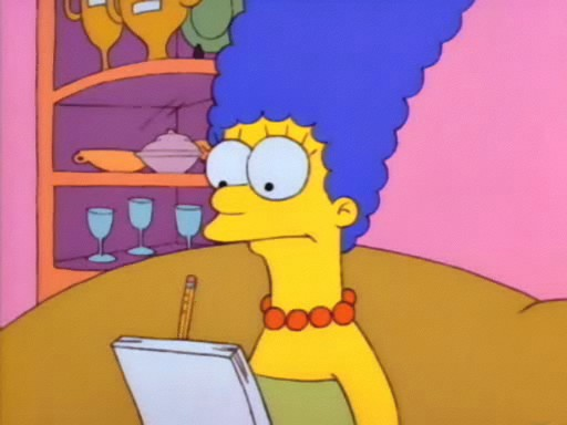 File:Marge Simpson (First Appearance).PNG