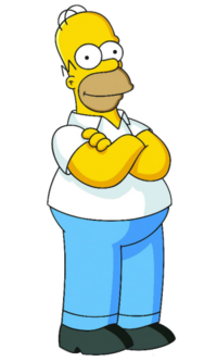 Homer Simpson (Official Image)