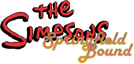 The Simpsons Springfield Bound Logo