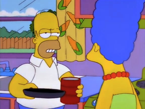 File:Homer is tired of Marge.JPG