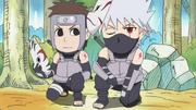 Kakashi and Yamato as ANBU