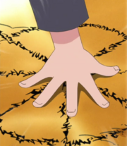 Naruto using Summoning Technique