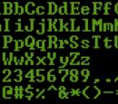 MS DOS Font