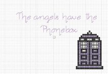 Doctor Who Tardis Angels Have Phonebox
