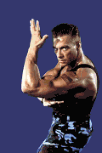 Jean Claude Van Damme street fighter the movie
