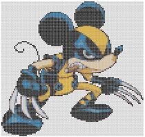 Mickey Mouse Wolverine