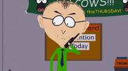 Mr. Mackey walkie talkie