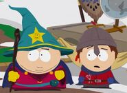 Cartman Beat up Clyde