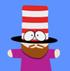 Mr hat friend icon