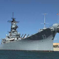 Battleship before Kathleen launching it