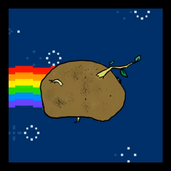 The First Nyan Spud